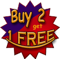 Buy 2 Personal Horoscopes or Astrology Reports and get 1 Free!